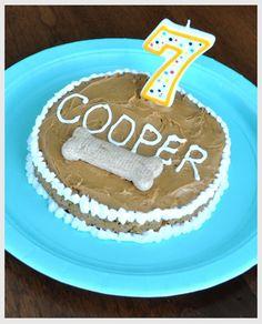 Doggie Birthday Cakes Dog birthday Birthday cakes and Dog
