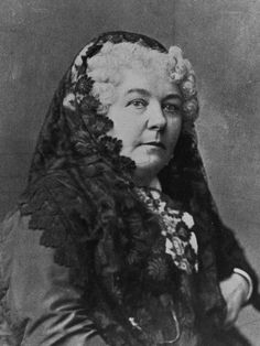 Elizabeth Cady Stanton (November 12, 1815 - October 26, 1902) was an American social activist, abolitionist, and leading figure of the early women's rights movement. Political focus was aimed almost exclusively at women's rights, including voting rights, parental & custody rights, birth control, property, income & employment, & divorce rights.) See: Declaration of Sentiments