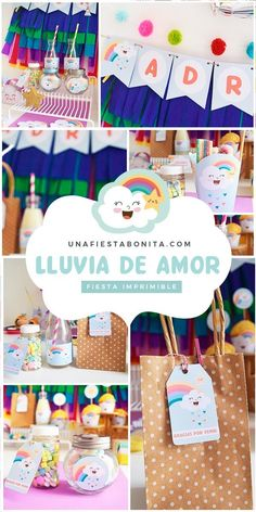 Kit imprimible para fiestas - lluvia de amor #lluviadeamor #partyideas#printable#partyprintable#etsyprintables#party#partying#partystyling#mypartystyle #partyplanner#partydecor#partyideasgroup#kidsparties#partyideasforkids#kidsparty#birthdayparties#partykids#partyinspiration#partydecoration#partydesigner#partyprintables#diypartydecor#birthdaypartyideas#ideasdedecoracion#fiesta#fiestasinfantiles Birthday Celebration, Birthday Parties, Brownies In A Jar, Simple Baby Shower, Virtual Baby Shower, Ideas Para Fiestas, Diy Party Decorations, Party Shop, Etsy Handmade