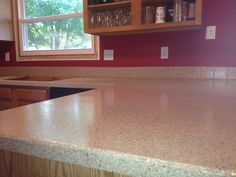 DIY Kitchen Countertop - an easy and inexpensive update!