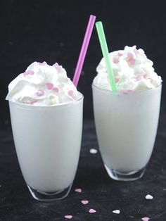 Milk shake à la vanille - Recette de cuisine Marmiton : une recette