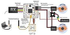 complete wiring diagram for openpilot revo flight controller - Google Search