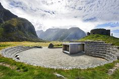 I love The National Tourist Routes In Norway and how they implement man-made constructions into the sceneries. Gotta go someday.