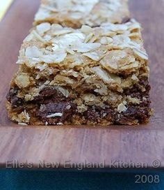 Elle's New England Kitchen - Elle's New England Kitchen - Raisinet Bars and a Birthday Giveaway!