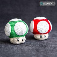 Ravelry: 1Up Mushroom pattern by Olka Novytska