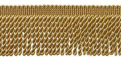 10 Yard Value Pack of GOLD 2.5 Inch Bullion Fringe Trim, Style# EF25 Color: C4 (30 Ft) Business Industrial Finance Insurance