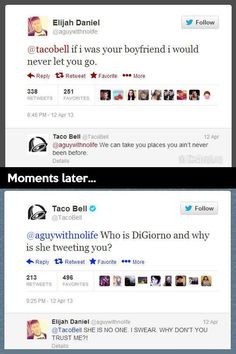 Funny of the Day: Taco Bell definitely has one of the coolest social media managers around.