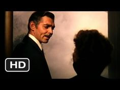 """Gone with the wind - """"Frankly My Dear, I Don't Give a Damn"""" (ending scene)"""