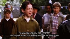I'm usually a lover ~ The Little Rascals (1994) ~ Movie Quotes