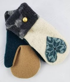 This item is unavailable Sweater Mittens, Wool Sweaters, Upcycle, Baby Shoes, My Etsy Shop, Check, Kids, Knitted Gloves, Toddlers