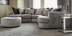 Buy Positano Corner Unit Universal seats) Elegant Velour Mid Silver Glide from the Next UK online shop New Living Room, Sofa Armchair, Sofas And Chairs, Room Inspo, Room, Room Decor, Home Decor, New Homes, Living Room Inspo