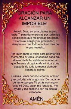 Oscar Garzon's media content and analytics Angel Prayers, Bible Prayers, Catholic Prayers, Faith Prayer, God Prayer, Prayer Quotes, Prayer Images, Spanish Prayers, Miracle Prayer