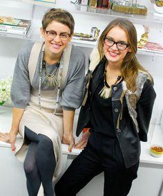 Lizzie and Kathryn Fortunato of Lizzie Fortunato Jewels