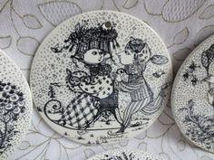 Bjorn Winblad Porcelain Plate