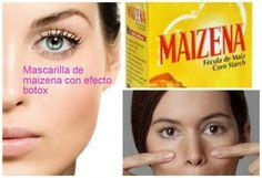 Mascarilla de Maizena con efecto Botox. Los resultados son sensacionales!!
