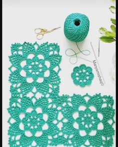 The Number One Marketplace to Buy Crochet Patterns Crochet Dollies, Crochet Lace Edging, Crochet Flower Tutorial, Crochet Blocks, Granny Square Crochet Pattern, Crochet Flower Patterns, Crochet Stitches Patterns, Crochet Squares, Crochet Granny