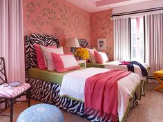 Grant K. Gibson- teenage girls bedroom- Elle Decor