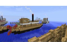 Cool ship minecraft 4