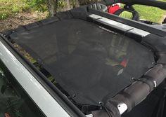 Alien Sunshade Jeep Wrangler JKF Provides UV Protection for Your 2-Door or 4-Door JK or JKU (2007-2016)