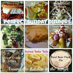 Sunday Dinner recipes http://aroundthekitchenintheburgh.wordpress.com/ Facebook.com/Aroundthekitchenintheburgh