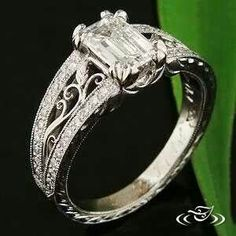 Green Lake Jewelry ~ unique engagement ring