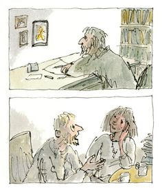 Michael Rosen's Sad Book: A Beautiful Anatomy of Loss, Illustrated by Quentin Blake – Brain Pickings