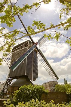 Windmill, Leiden, The Netherlands