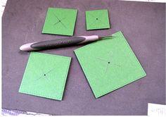 Step 2 for Stitched Shapes Framelits Tree - Stampin' Up!