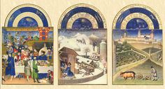 TRES RICHES HEURES // Limbourg Brothers