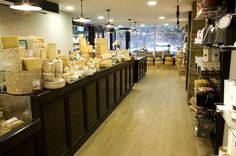 Paxton and Whitfield have a great selection of cheese