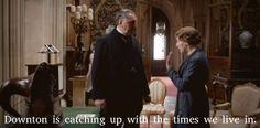 Downton Abbey Season 5 Carson and Hughes