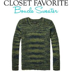 Closet Favorite: Boucle Sweater | www.taimboutique.wordpress.com