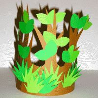 Couronne g nie des bois Tree Costume, Flower Costume, Carnival Crafts, Carnival Masks, Diy For Kids, Crafts For Kids, Diy And Crafts, Paper Crafts, Spring Crafts