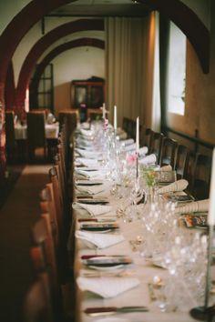 Elegant and rustic table decoration, vintage wedding table decoration.