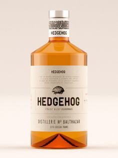 Hedgehog Whisky on Packaging of the World - Creative Package Design Gallery