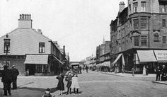 Old photograph of Troon, Ayrshire, Scotland