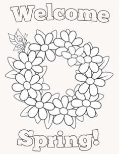 91 Best SPRING COLORING PAGES images | Easter coloring pages, Easter ...