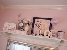 Idea for girls room- less girly.  Can hold nick nack stuff