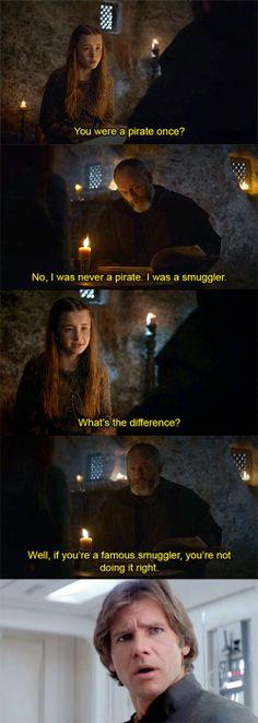 Smuggler vs Pirate