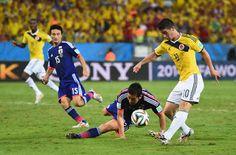 Seputar Bola: Kolombia vs Jepang: Rodriguez Terancam Absen