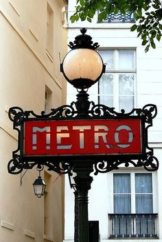 Heading to Paris, France on the metro - that would make ya smile!
