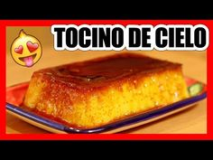 😍 TOCINO DE CIELO Casero! Superfácil y DELICIOSO 🤤 - YouTube Flan, Sweet Bread, Cake Recipes, French Toast, Food And Drink, Appetizers, Sweets, Cookies, Breakfast