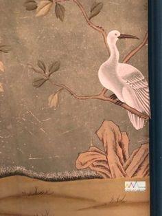 Bird, Animals, Painting, Painted Wallpaper, Antique Wallpaper, Hand Painted Walls, The Originals, Artworks, Artists
