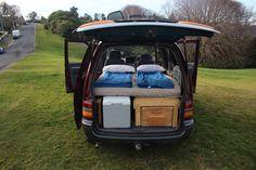 Van-life with comfort Camper Van for Backpackers
