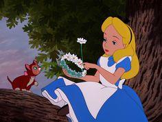 *DINAH & ALICE ~ Alice in Wonderland, 1951