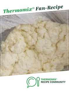 Fresh Ricotta by kidsnquinoa. A Thermomix <sup>®</sup> recipe in the category Basics on www.recipecommunity.com.au, the Thermomix <sup>®</sup> Community.