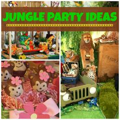 Jungle Party Ideas #jungle #partyideas