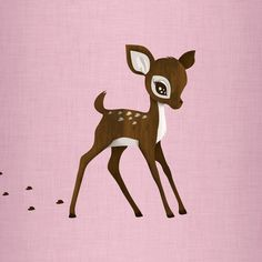 Lovely deer {you know how people find that one animal to obsess over and have a ton of? I found that animal...}