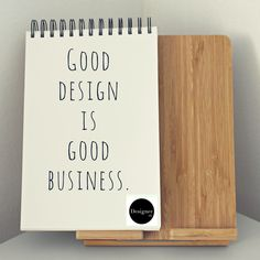 Good design gets results Cool Designs, Graphic Design, This Or That Questions, Writing, Quotes, Frases, Quotations, Being A Writer, Quote