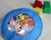 Veo, veo juguete sensorial bolsa / Montessori / I espiar hallazgo del tesoro / Kids viajes tranquilo